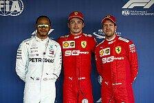 Formel 1, Hamilton: Vettel bei Ferrari klar nicht die Nr. 1