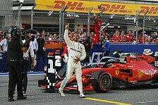 Formel 1 Russland, Hamilton jubelt: Jet-Mode-Ferrari gesplittet