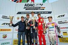 ADAC Formel 4: Titelduell wird im letzten Rennen entschieden