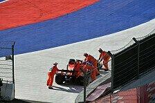 Vettel-Ferrari unter Strom: Gefahr für Fahrer und Marshalls
