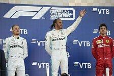Formel 1 2019: Russland GP - Podium