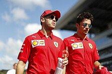 Formel 1 - Vettel vs. Leclerc: Brawn sieht Explosionsgefahr