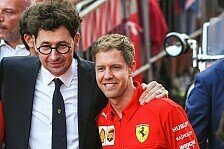 Sebastian Vettel in Maranello: 'Konstruktives' Binotto-Meeting