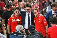 Ferrari-Teamchef: Haben Vettel vs. Leclerc unter Kontrolle