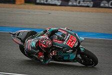 MotoGP Thailand 2019: Fabio Quartararo im 4. Training voran