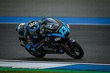 Moto3 Thailand: Erste Pole Position für Rossi-Junior Vietti