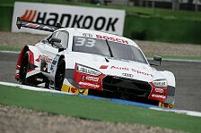 DTM Hockenheim: Jenson Button beeindruckt bei Rast-Pole