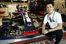 Formel 1: Toro Rosso gibt Japaner in Suzuka FP1-Chance