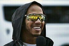 Formel 1 im Formel-E-Modus? Lewis Hamilton freut Japan-Chaos
