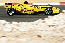 Formel 1 - Jordan: Nützlicher Test. Vorfreude. Aber auch Skepsis...