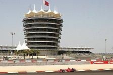 Formel 1 - Testing Time, Tag 2: Ferrari trifft auf Regen in der Wüste