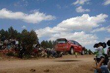 WRC - Zweite Etappe auf Sardinien