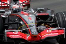 Formel 1 - Bilderserie: Monaco GP - Tech-Update