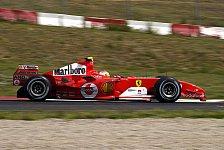 Formel 1 - Luca Badoer begann Monza-Test