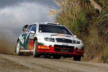 WRC - Skoda zufrieden mit dem ersten Tag