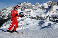 Michael gilt als passionierter Skifahrer - Foto: Ferrari Press Office