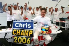 Chris Vietoris 2006 f�r Josef Kaufmann Racing in der Formel BMW - Foto: BMW