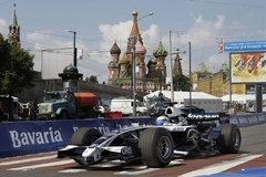 Nico Rosberg 2008 zu Gast in Moskau - Foto: Williams
