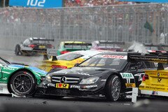 Paffett war in N�rnberg ein Opfer der �u�eren Umst�nde - Foto: RACE-PRESS