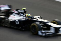 Bruno Senna f�hrt seit 2012 f�r Williams