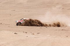 Chicherit führte lange - Foto: Dakar Press