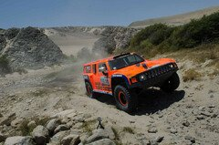 Robby Gordon hatte Pech - Foto: Dakar Press