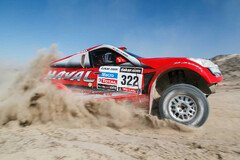 �berraschung durch Zhou im Great Wall - Foto: Dakar Press