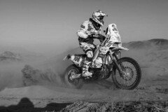 Thomas Bourgin verstarb 2013 - Foto: Dakar Press