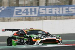 Der Craft-Racing-Aston-Martin vertrat Hongkong auf dem Podium - Foto: Creventic