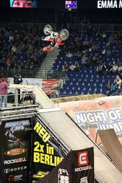 Emma McFerran zeigte, was sie drauf hat. - Foto: NIGHT of the JUMPs