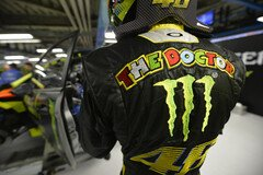 Valentino Rossi wirbt f�r Monster - Foto: Monster Energy