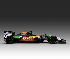 Sergio Perez f�hrt am Dienstag - Foto: Force India
