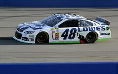 Jimmie Johnson war in Training schnell - Foto: NASCAR