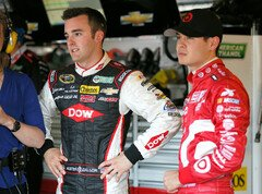 Darlington-Stripes bei Kyle Larson - Foto: NASCAR