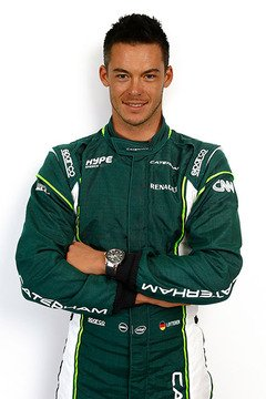 Lotterer im Caterham-Outfit - Foto: Caterham