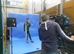 Lotterer beim Shooting - Foto: Motorsport-Magazin.com