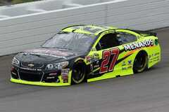 Paul Menard im Childress-Chevrolet - Foto: NASCAR