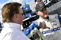 Richard Childress mit Ty Dillon - Foto: LAT Images
