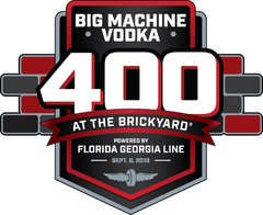 Regular Season Cup-Rennen 26: 26th Annual Big Machine Vodka 400 at The Brickyard presented by Florida Georgia Line - Foto: LAT Images