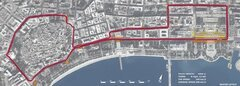 Layout Baku Circuit - Foto: Baku Grand Prix