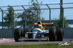Alain Prost gewann 1993 für Williams in Montreal - Foto: Sutton