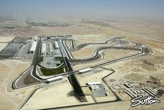 Die Bahrain International Circuit - Foto: Sutton