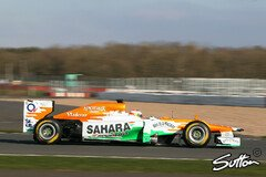 Force India pr�sentiert den neuen Boliden am 1. Februar 2013 - Foto: Sutton