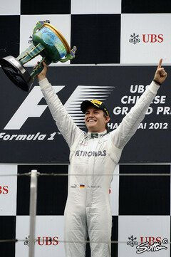 Nico Rosberg gewann in China - Foto: Sutton
