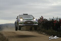 Petter Solberg gewann die Power Stage - Foto: Sutton