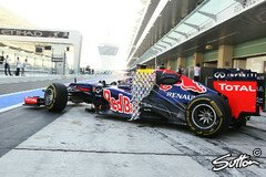 Aero-Gitter am RB8 - Foto: Sutton