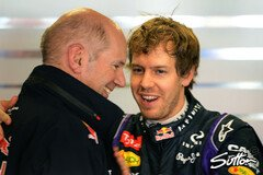 Red Bulls Dream Team: Sebastian Vettel & Adrian Newey - Foto: Sutton