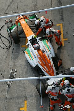 Bei Force India ging alles schief - Foto: Sutton