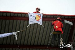 Proteste in Spa - Foto: Sutton