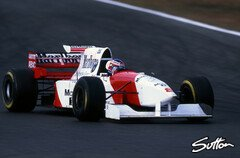 Jan Magnussen beim Pacific GP 1995 - Foto: Sutton